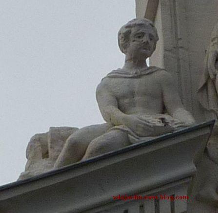 Poitiers, le cercle du commerce, portrait du donateur
