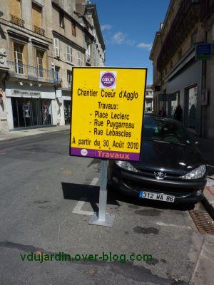 Poitiers, coeur d'agglomération, 03, annonce de nouveaux travaux