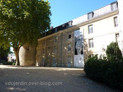 Tours, la façade du château pour l'exposition Nadar (2010)
