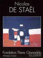 Affiche de l'exposition Nicolas de Stael, 2010, fondation Gianadda