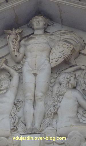 Poitiers, l'ancienne chambre de commerce, 5, Mercure