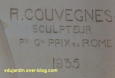 Poitiers, l'ancienne chambre de commerce, 3, la signature