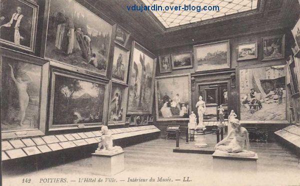Poitiers, l'ancien musée de l'hôtel de ville, 1, vue générale