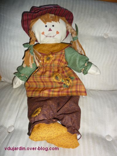 Une poupée en tissu pour Elina