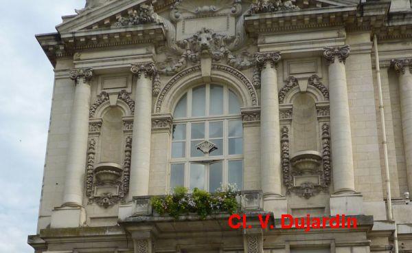 Tours, l'hôtel de ville, l'aile gauche, 2, l'étage