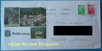 L'envoi de Dianou, 1, enveloppe