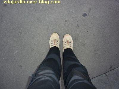 VDB 31, c'est le pied! Mes pieds en chaussures de marche