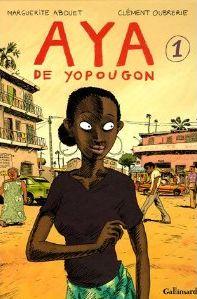 Couverture du tome 1 de Aya de Yopogon