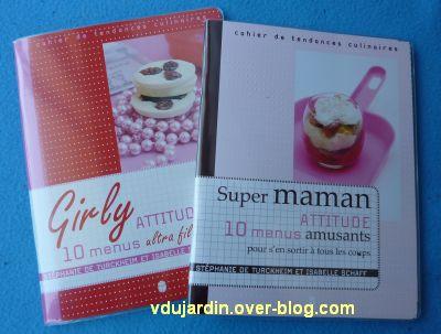 Pour l'anniversaire de Bidouillette et Petite fée Nougat, des livres de cuisine