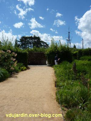 Chaumont-sur-Loire, festival 2010, le jardin 24, vue 1, l'entrée