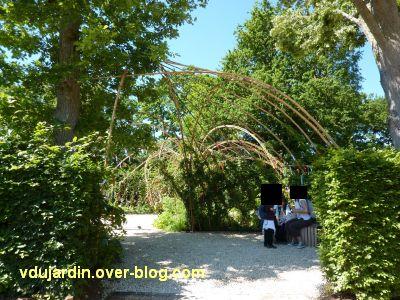 Chaumont-sur-Loire, festival 2010, le jardin 13, 1, l'entrée