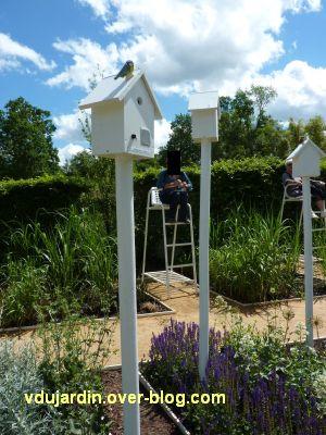 Chaumont-sur-Loire, festival 2010, le jardin 18, 3, vue rapporchée