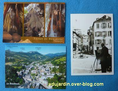 Cartes postales reçues de Vincent et Naina, Bidouillette et Jacky