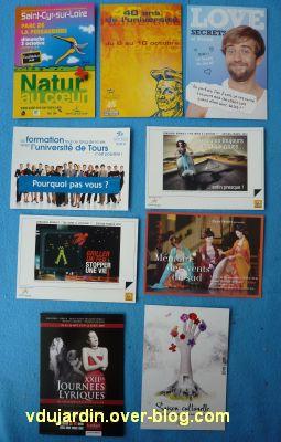 Envoi de Véro Bis, septembre 2010, 3, cartes à publicité