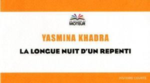 Couverture de la longue nuit d'un repentis de Yasmina Khadra
