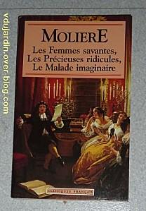 Couverture des femmes savantes et autres pièces de Molière