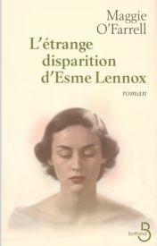 Couverture de L'étrange disparition d'Esme Lennox
