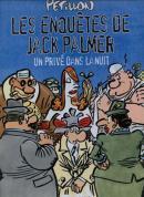 COuverture de Un privé dans la nuit de Pétillon, édition de 2004