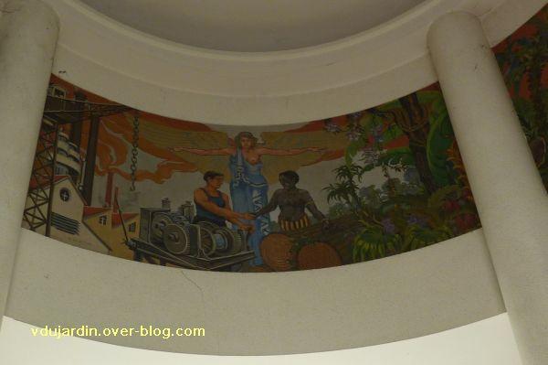 Poitiers, les peintures de l'ancienne chambre de commerce de Poitiers, 3, le panneau central
