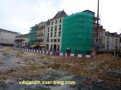 Poitiers, coeur d'agglo, 15 septembre 2010, 2, place d'armes et façades en ravallement
