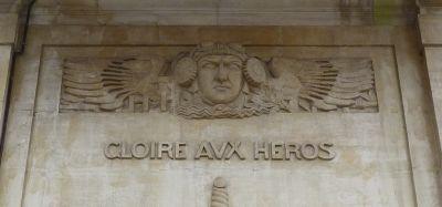 Toulouse, le monument morts de Haute-Garonne, Abbal, un aviateur