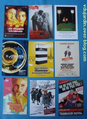Envoi de Capucine O, novembre 2010, 4, cartes à publicité