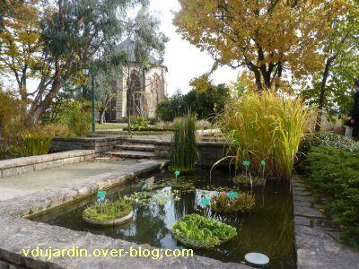 Limoges, le jardin de l'évêché le 31 octobre 2010, vue 1