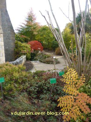 Limoges, le jardin de l'évêché le 31 octobre 2010, vue 2