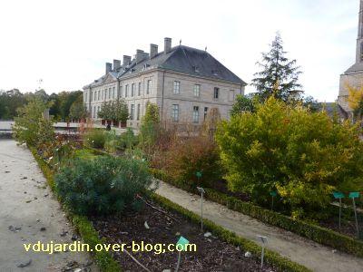 Limoges, le jardin de l'évêché le 31 octobre 2010, vue 5