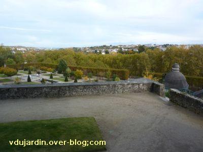 Limoges, le jardin de l'évêché le 31 octobre 2010, vue 6