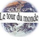 logo tour du monde en lecture