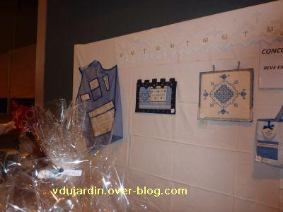 Moncoutant 2010, mon tablier au fond de l'exposition du concours