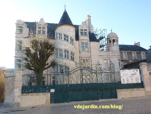 L'hôtel Jean Beaucé après restauration, en janvier 2014