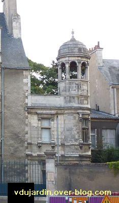 Poitiers, hôtel Jean Beaucé, 4, la partie 19e siècle