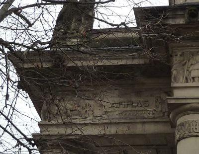 Toulouse, le monument morts de Haute-Garonne, Moncassin, Arras
