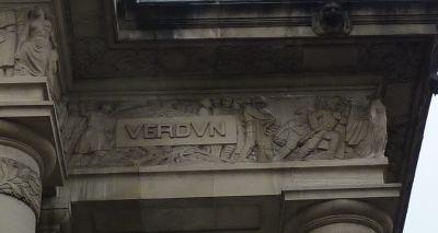 Toulouse, le monument morts de Haute-Garonne, Moncassin, Verdun