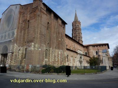 Toulouse, Saint-Sernin, le côté sud
