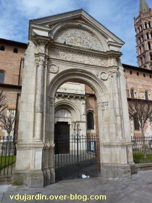 Toulouse, Saint-Sernin, la porte Miégeville