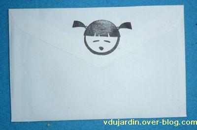 Envoi de Véro bis en novembre 2010, dos de l'enveloppe