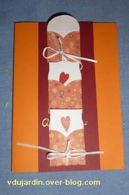 Mon anniversaire 2010 par Bidouillette, 5, la carte maison avec les cases ouvertes