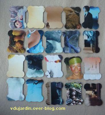 Des cartonnettes pour les rubans, série 1, récup Télérama