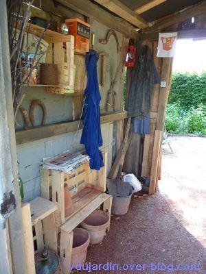 Chaumont-sur-Loire, festival 2010, le jardin 20, 06, dans la cabane