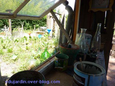 Chaumont-sur-Loire, festival 2010, le jardin 20, 08, la fenêtre de la cabane