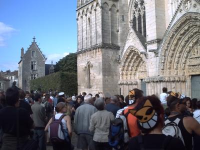 Le final de Kloch, place de la cathédrale à Poitiers, 21 juin 2009