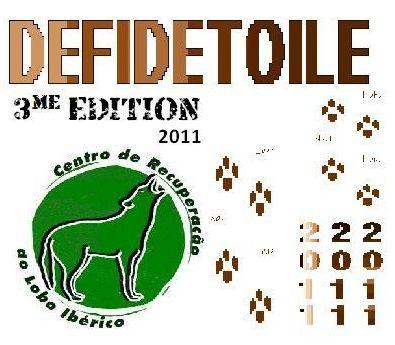 Concours loups 2011 : le logo de défi de toile