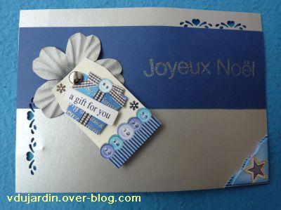 Noel 2010, le cadeau reçu de Milkinise, 2, la carte bleue