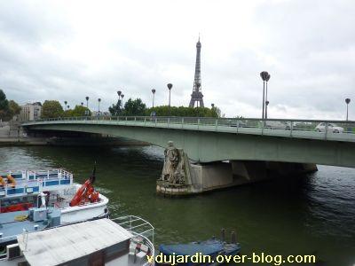 Paris, le pont de l'Alma, 1, le pont