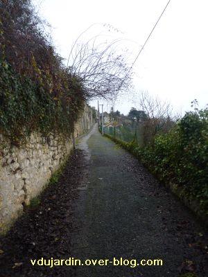 Poitiers, la crue le 24 décembre 2010, 1, le chemin de Trainebot