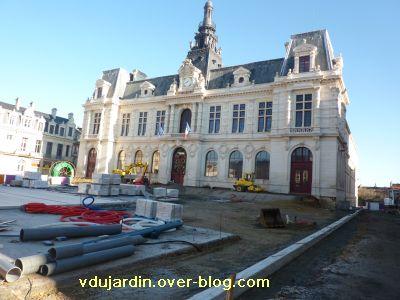 Poitiers, coeur d'agglo, 11 décembre 2010, place d'armes, 1, l'hôtel de ville