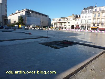 Poitiers, coeur d'agglo, 11 décembre 2010, place d'armes, 2, ça givre